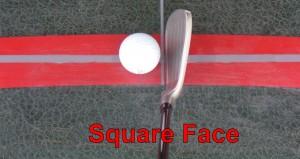 Square Clubface
