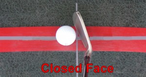 Closed Clubface